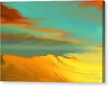 Ridge Canvas Print by Kerry Beverly