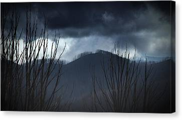 Canvas Print featuring the photograph Ridgeline by Tim Nichols
