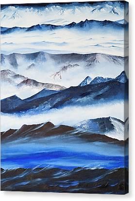 Ridgelines Canvas Print