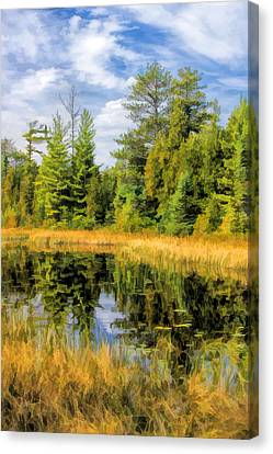 Ridges Sanctuary Reflections Canvas Print