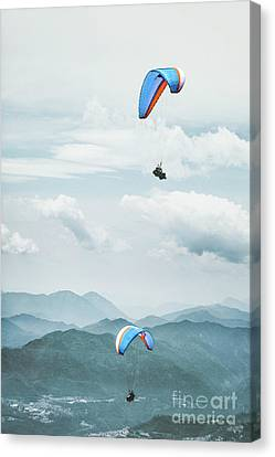 Riding The Wind Canvas Print