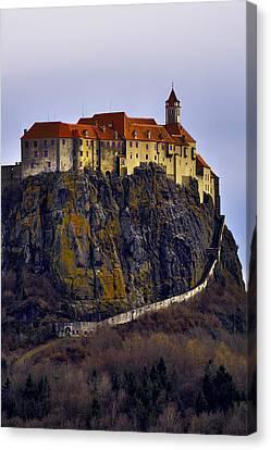 Riegersburg Castle Vertical Canvas Print