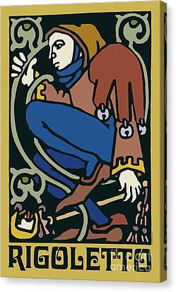 Rigoletto Canvas Print