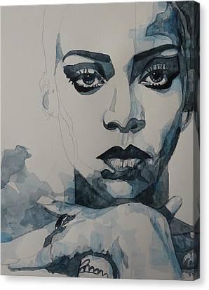 Rihanna - Pre Finish  Canvas Print