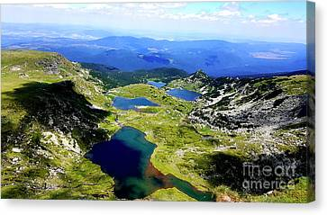 Rila Lakes Canvas Print by Kristian Leov