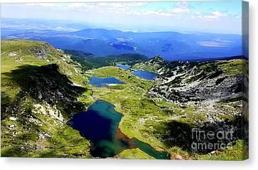 Rila Lakes Canvas Print by Kristian Leov