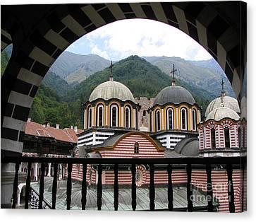 Rila Monastery Canvas Print