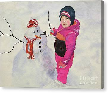 Riley Canvas Print by Karol Wyckoff