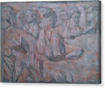 Rilievo After Mataloni Canvas Print