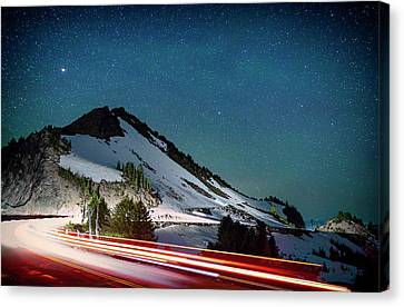 Crater Lake National Park Canvas Print - Rim Drive by Cat Connor