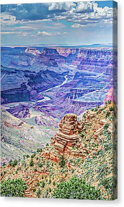Rim Shot Canvas Print by Mark Dunton