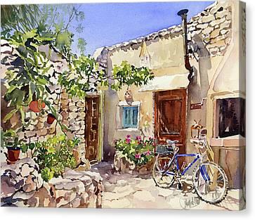 Rincon De Bornos Canvas Print by Margaret Merry