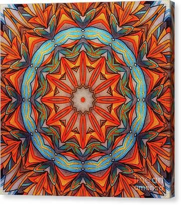 Ring Of Fire Canvas Print by Mo T
