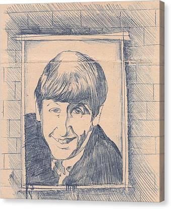 Ringo Starr 1963 Canvas Print