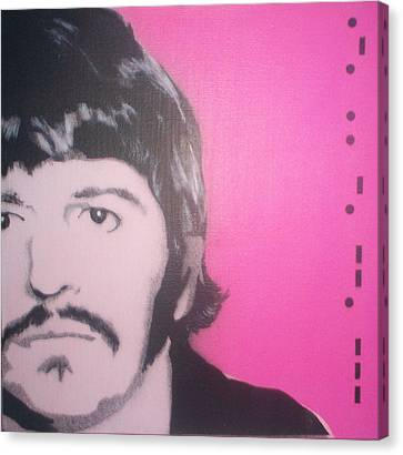 Ringo Starr Canvas Print by Gary Hogben