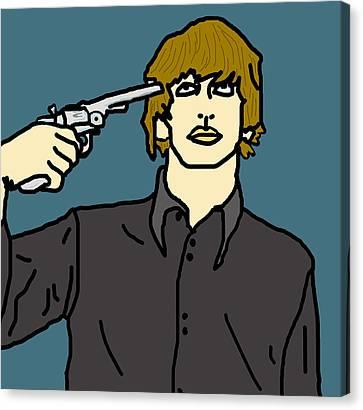 Ringo Starr Canvas Print by Jera Sky