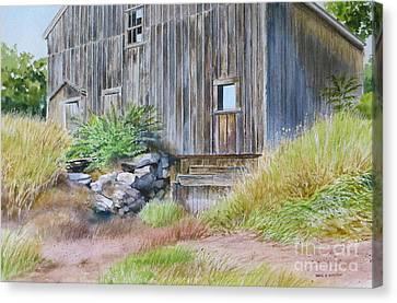 Rinky Dink Barn Canvas Print by Karol Wyckoff