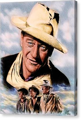 Rio Bravo Colour Ver Canvas Print