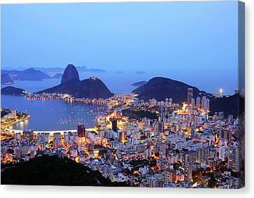 Rio De Janeiro, Beautiful City Canvas Print by ©Ricardo Barbieri