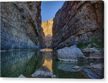 Rio Grand - Big Bend Canvas Print