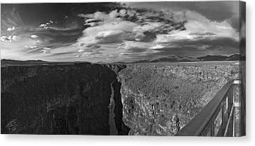 Canvas Print featuring the photograph Rio Grande by Gary Cloud
