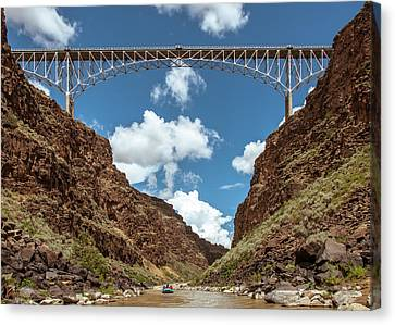 Rio Grande Gorge Bridge Canvas Print by Britt Runyon