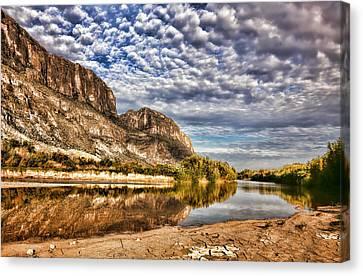 Rio Grande River 1 Canvas Print