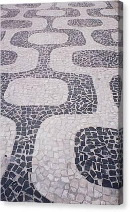 Rio Sidewalk Canvas Print