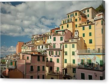 Canvas Print - Riomaggiore 2 by Art Ferrier
