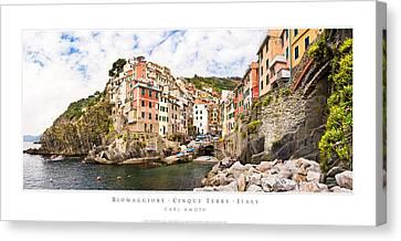 Riomaggiore Italy Canvas Print
