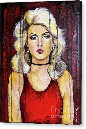 Debbie Harry Canvas Print - Rip Her To Shreds by Dori Hartley