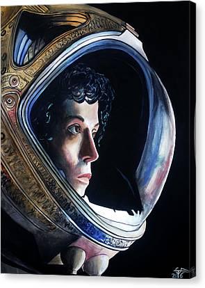 Ripley Canvas Print by Tom Carlton