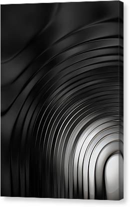 Monotone Canvas Print - Ripple by Jack Zulli