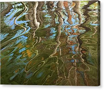 Charles River Canvas Print - Ripple by Jason Sawtelle