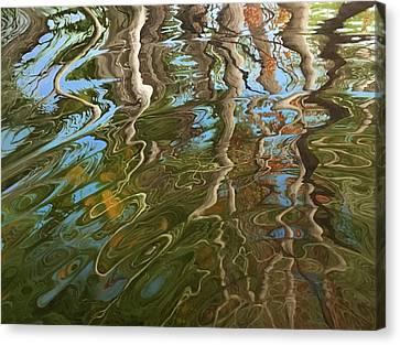 Ripple Canvas Print by Jason Sawtelle