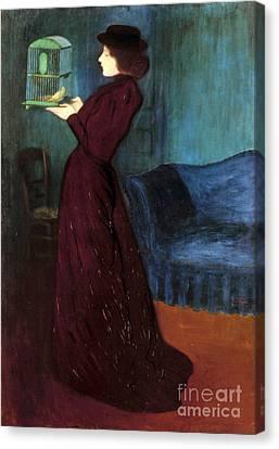 Ripple-ronai: Woman, 1892 Canvas Print by Granger
