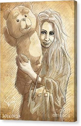 Risako Canvas Print by Tuan HollaBack
