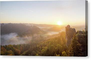 Rise And Shine Canvas Print by Michael Weber
