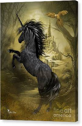 Rise Of The Unicorn Canvas Print