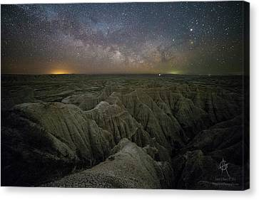Rising Canvas Print by Aaron J Groen