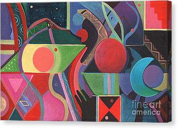 Rising Above And Synergy Canvas Print