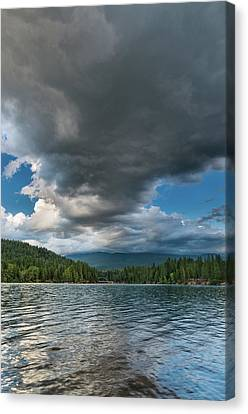 Rising Cloud Above Siskiyou Canvas Print by Greg Nyquist