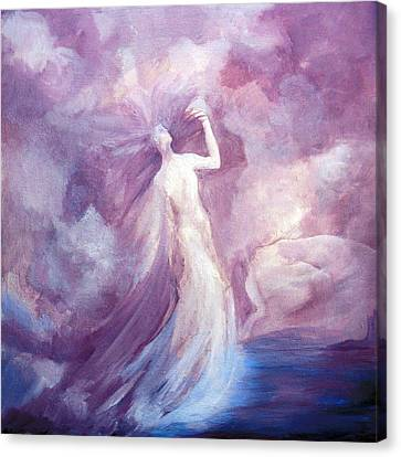 Finding The Goddess Within Canvas Print by Teresa Leigh Ander