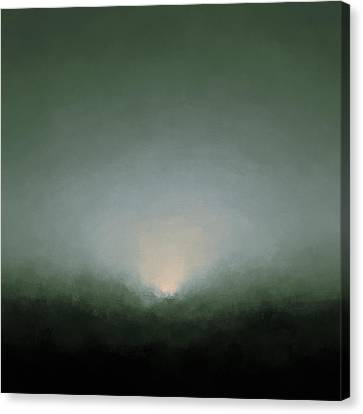Rising Moon Canvas Print by Lonnie Christopher