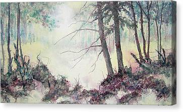 Rising On The Morning Air Canvas Print by Carolyn Rosenberger