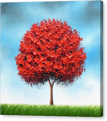 Rising Canvas Print by Rachel Bingaman