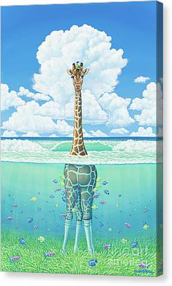 Rising Sea Canvas Print