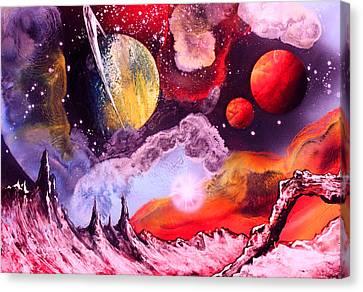 Rising Star  Canvas Print by Tony Vegas