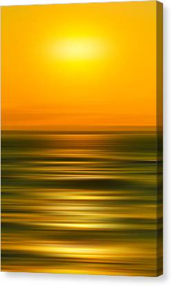 Rising Sun Canvas Print by Az Jackson