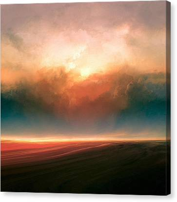 Rising Sun Canvas Print by Lonnie Christopher